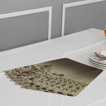 Atlantis Emperor Printed Placemat Set-6pcs