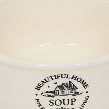 Beautiful Home Soup Bowl