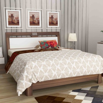 Akron Crystal King Size Bed