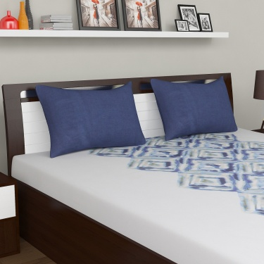 D'DECOR Cherish Double Bedsheet Set-3 Pcs.