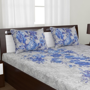 D'DECOR Classic 3-Pc. Double Bedsheet Set - 274 x 274 cm