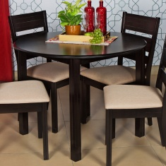 Strange Montoya Round Dining Table Without Chairs 4 Seater Forskolin Free Trial Chair Design Images Forskolin Free Trialorg