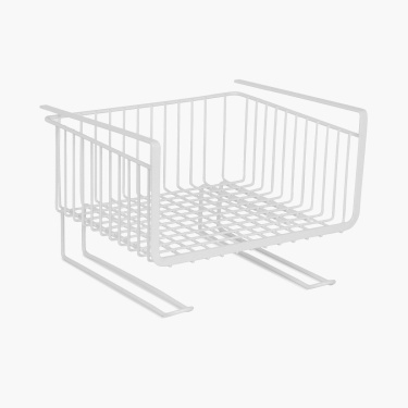 Ceat Utility Basket With Mug Hooks