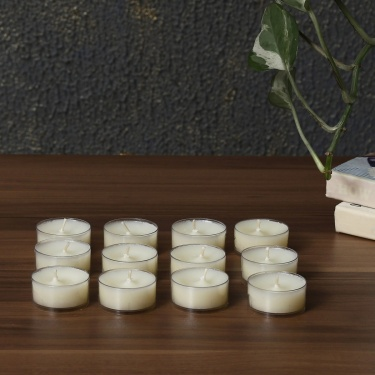 Galaxy Selena Vanilla Tea Light Candles - Set Of 12