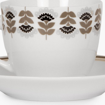 Abia Cup And Saucer Set-12pcs