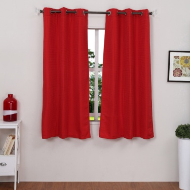 Seirra Window Curtains Set-2pcs