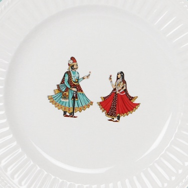 Altius Regal Mughal Princely Print Side Plate