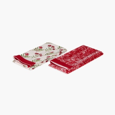Meadows Garden Cotton Kitchen Towel Set -2pcs