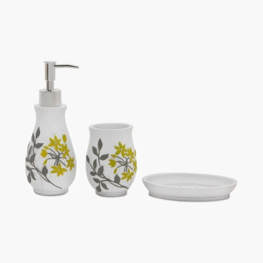 Addison Polyresin Bath Set-3pcs