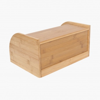Beautiful Home Bamboo Bread Box