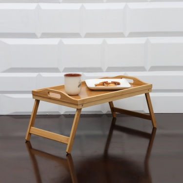 Beautiful Home  Foldable Bamboo Breakfast Tray