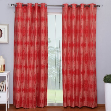 Matrix Linsey Jacquard Door Curtain Set-2pcs