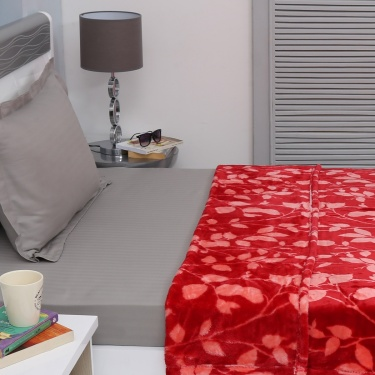 Matrix Sienna Printed Single Bed Blanket