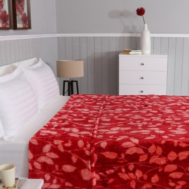 Printed Double Bed Blanket- 220x240cm