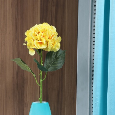 Single Hydrangea Artificial Flower Stem
