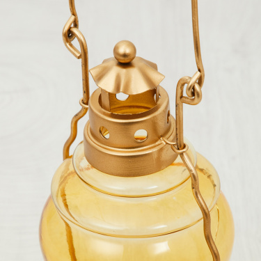 Galaxy Raga Crackle Lantern