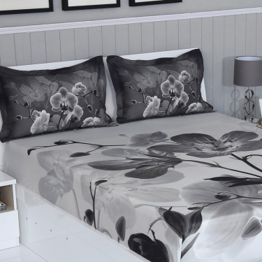 Matrix Flint 3-Pc. Double Bedsheet Set - 274 x 274 cm