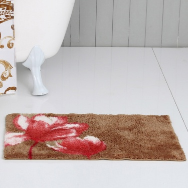 Hudson Poppy Bath Mat