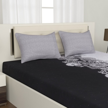 PORTICO Pearl 3-Pc. Queen Size Bedsheet Set - 224 x 254 cm