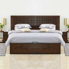 Krea Queen Bed with Hydraulic Storage
