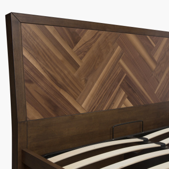 Touchwood Queen Bed with Hydraulic Storage