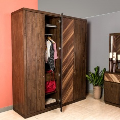 Touchwood 4-Door Wardrobe
