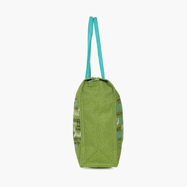 Livia Printed Shopping Jute Bag