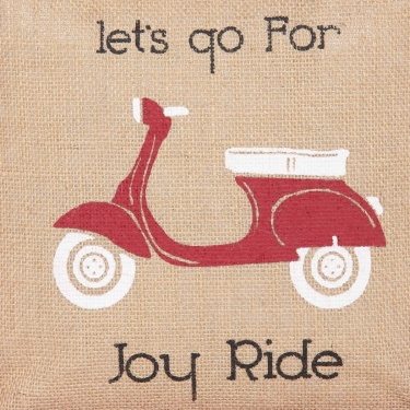 Livia Joy Ride Lunch Jute Bag