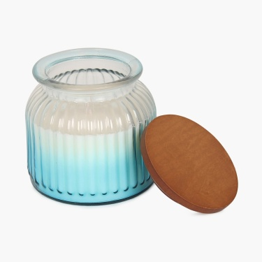 Splendid Ombre Glass Jar Candle