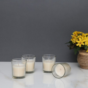 Splendid Jasmine Shot Glass Votive Candle