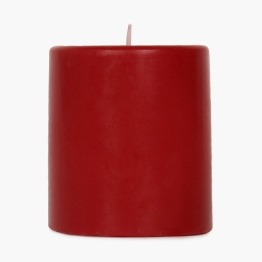 Splendid Floral Garden Solid Pillar Candle
