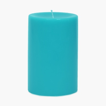 Splendid Solid Pillar Candle- 4X6 Inch