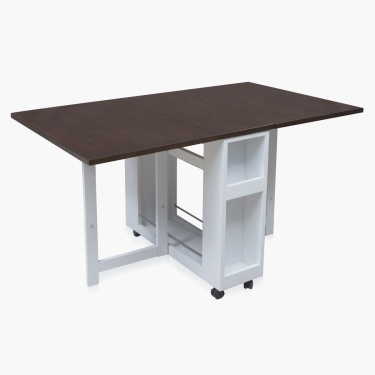Butterfly Rectangle Dining Table Without Chairs - 4 Seater