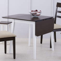 Butterfly Extended Dining Table Without Chairs - 2 Seater