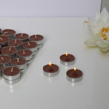 Sandalwood Scented T-Light Candles - Set Of 50