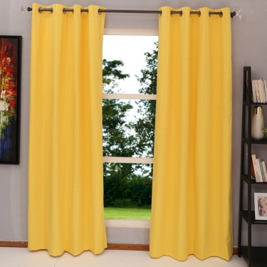 Colour Connect Blackout Door Curtain Pair - 225 X 135 cm
