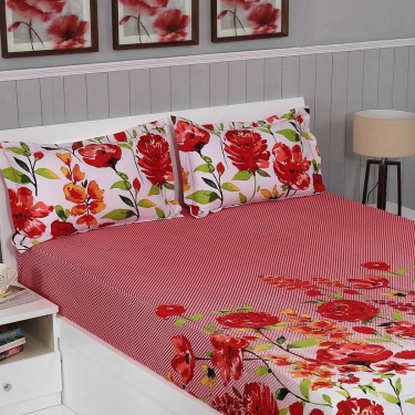 Matrix Astoria 3-Pc. Double Bedsheet Set - 274 x 274 cm