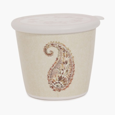 Meadows Golden Age Paisley Print Canister