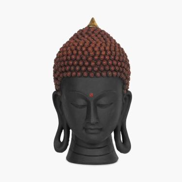 Galaxy Alpana Buddha Head
