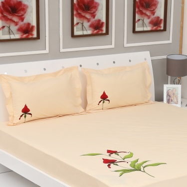 Matrix 3-Pc. Double Bedsheet Set - 274 x 274 cm