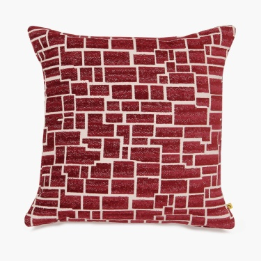 Matrix Chennille Jacqured Cushion Cover 40x40cm