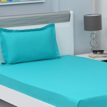 Colour Connect 2-Pc. Single Bedsheet Set - 152 X 274  cm