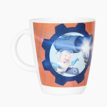 Adventure of U-tron Construction Kids Coffee Mug