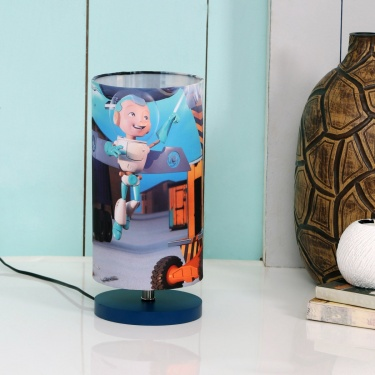 Adventures Of U-Tron Digital Print Table Lamp