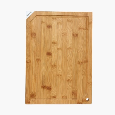 Sagano Bamboo Cutting Board With Knife Sharpener
