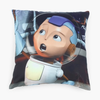 Adventures Of U-Tron Printed Cushion Cover Set- 2 Pcs.