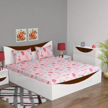 Fabulous3 Double Bedsheet Set-3pc
