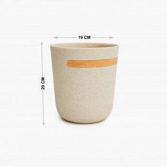 Marshmallow Textured Round Dustbin