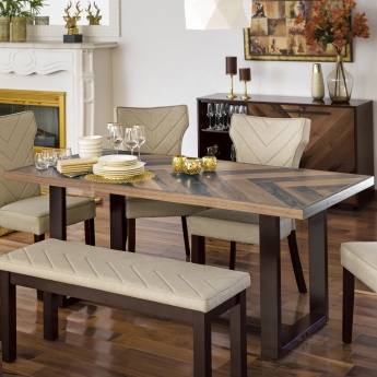 Touchwood Dining Table Without Chairs - 6 Seater