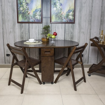 butterfly oval dining table without chairs - 4 seater | dining Butterfly Dining Table